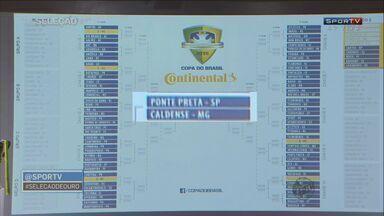 Caldense enfrenta a Ponte Preta na 1ª fase da Copa do Brasil - Caldense enfrenta a Ponte Preta na 1ª fase da Copa do Brasil
