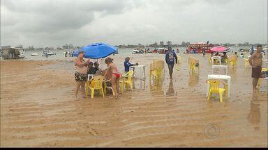 JPB2JP: Restrições em Areia Vermelha começam a valer a partir desta terça - Proibidos: mesas, cadeiras, sombrinhas, churrasqueiras...