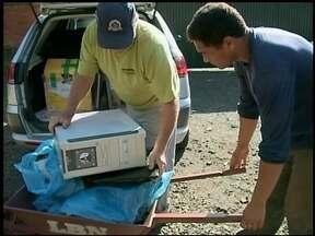 Campanha faz recolhimento de lixo eletrônico sem utilidade - Até sábado os equipamentos podem ser levados até o antigo Cortume de Erechim, RS.