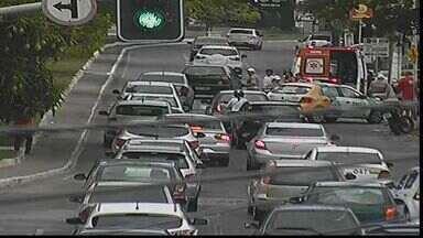 Número de acidentes de trânsito é reduzido - Veja a movimentação do trânsito no Radar SE