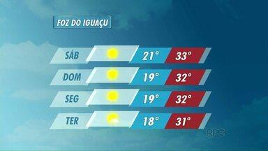 Veja a previsão do tempo para o fim de semana - A previsão é de um tipo fim de semana de verão.