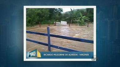 Chuva provoca alagamentos em diversas cidades do Sul de Minas - Chuva provoca alagamentos em diversas cidades do Sul de Minas