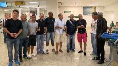 Vitória recebe Sul Americano de Futebol de Areia, no ES - Craques Edinho, Júnior e Cláudio Adão participam de jogo comemorativo.