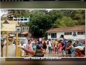 Donos de embarcações fazem protesto pela reforma do Pier, em Arraial do Cabo, no RJ - Manifestação acontece na Praia dos Anjos.