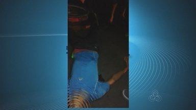 Policial militar de folga reage a assalto e mata suspeito com quatro tiros em Macapá - Um jovem morreu na noite de quinta-feira (14), na frente de uma faculdade particular na Rodovia JK, no bairro Jardim Equatorial, Zona Sul de Macapá. Segundo o Centro Integrado de Operações de Defesa Social (Ciodes), ele foi atingido por tiros após tentar assaltar uma policial militar.