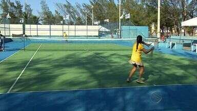 Aracaju recebe circuito de tênis de base - Aracaju recebe circuito de tênis de base