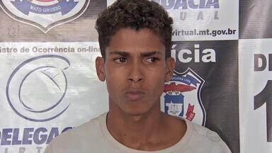 Preso suspeito de matar taxista em Cuiabá - Preso suspeito de matar taxista em Cuiabá