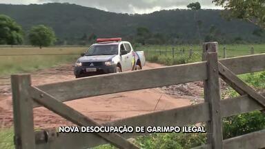 Polícia realiza blitz para desocupar garimpo em Pontes e Lacerda - Polícia realiza blitz para desocupar garimpo em Pontes e Lacerda