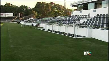 Operário vence primeiro jogo treino do ano - O Fantasma ganhou por um a zero do Brusque de Santa Catarina