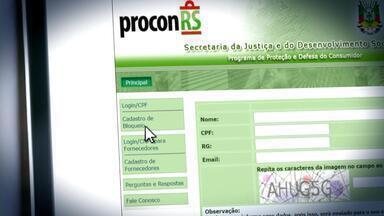Saiba como evitar as ligações de telemarketing - No site do Procon é possível pedir o bloqueio das ligações.