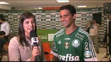 Experiente, Jean diz que poderá ajudar o Palmeiras na Libertadores - Volante atuou por São Paulo e Fluminense antes de chegar ao Palmeiras