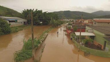Cidades do Circuito das Águas registram inundações no fim de semana - Cidades do Circuito das Águas registram inundações no fim de semana