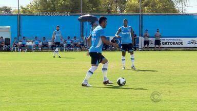 Jogo-treino do Tricolor mostra a cara do time de Roger para a temporada 2016 - Técnico testou os jogadores durante dois tempos de 30min.