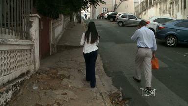 Falta de calçadas em ruas de São Luís dificulta mobilidade de pedestres - A equipe de reportagem do JMTV percorreu algumas ruas e constatou a falta de calçadas.