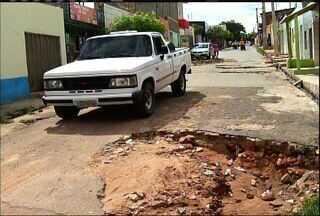 Chuvas colocam à prova estrutura de cidades do Cariri - Confira a reportagem de Biana Alencar.