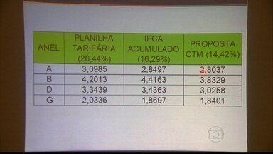 Passagens de ônibus do Grande Recife sofrem reajuste de 14,42% - Aumento foi informado em coletiva nesta segunda-feira.