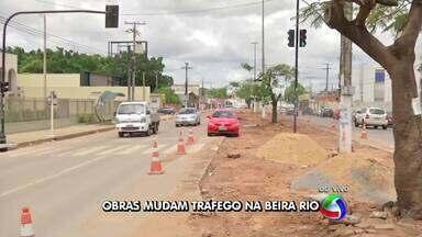 Tráfego na avenida Beira Rio, em Cuiabá, será alterado - Tráfego na avenida Beira Rio, em Cuiabá, será alterado