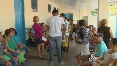 Pacientes reclamam de longas filhas em UBS em Manaus - Um homem disse ter esperado mais de 4 horas