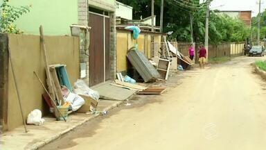 Chuva deixa quase mil famílias desalojadas em Paraíba do Sul, RJ - Cidade está estado de calamidade pública por causa da chuva dos últimos dias.