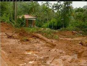Defesa Civil registra 91 ocorrências durante fim de semana de chuvas em Teresópolis, RJ - Alagamentos, queda de barreiras, muros e árvores foram as principais ocorrências.