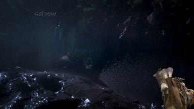 Candinho é abandonado no rio - Burro fica morrendo de medo ao ver o passado do amigo