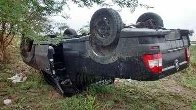 Acidentes foram registrados em rodovias do Agreste de Pernambuco - Um dos casos envolveu quatro veículos.