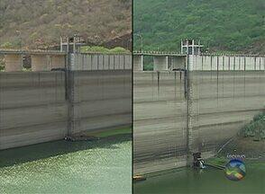 Volume da Barragem de Jucazinho é mais baixo em 16 anos - Obra foi necessária para que a água continue chegando às casas.