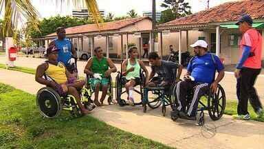 Paratletas sergipanos participam de curso com especialista no esporte - Paratletas sergipanos participam de curso com especialista no esporte