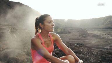 Corrida No Vulcão Ativo
