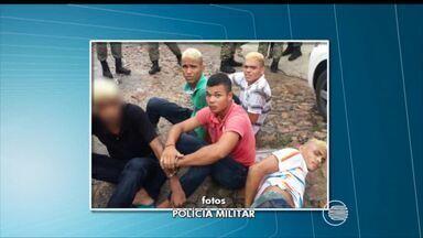 Quatro homens são presos e um adolescente apreendido em Teresina - Quatro homens são presos e um adolescente apreendido em Teresina