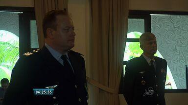 Tenente-coronel aviador Frederico Casarino assume comando da Base Aérea de Fortaleza - Tenente-coronel Casarino é natural de São Paulo e é piloto de caça.