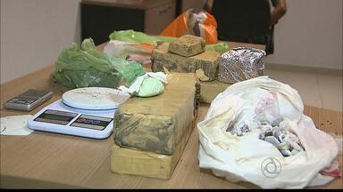 Mais de 40 kg de maconha foram apreendidos na Ilha do Bispo, em JP - Só esta semana, já foram apreendidos mais de 100 kg de droga.
