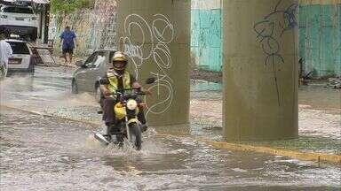Ceará registra chuva em 84 cidades neste sábado, segundo Funceme - Chuva mais intensa ocorreu no município de Santa Quitéria.