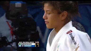 Sarah Menezes conquista o ouro no Grand Prix de Havana - Sarah Menezes conquista o ouro no Grand Prix de Havana
