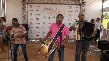 Circuito de Verão TV Gazeta movimenta praia de Jacaraípe, na Serra - O evento trouxe brincadeiras, jogos e música.