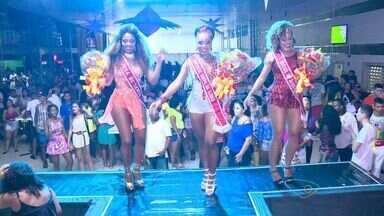 Musas da Pega, MUG e Barreiros são finalistas do Garota do Samba 2016 - Finalistas foram escolhidas na noite desta sexta (22). Gleice, Paloma e Roberta disputam o título através do voto popular.