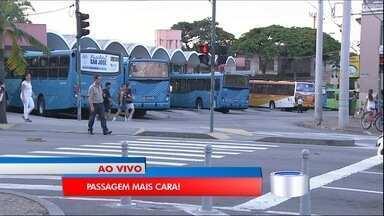 Tarifa de ônibus vai ficar mais cara em São José neste domingo - Passagem vai para R$ 3,80.