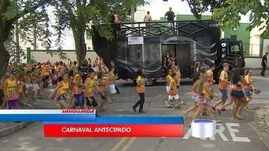 Bloco do Pimenta abre carnaval em Caçapava - Bloco é uma das atrações da folia na cidade.