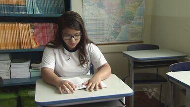 Estudante de São Vicente terá história publicada em livro - Uma estudante de São Vicente terá a história publicada em um livro que será lançado em todo o país.