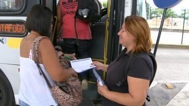 Passageiros voltam a reclamar da falta de informação sobre novas linhas de ônibus - Começou hoje a nova etapa da mudança das linhas que passam pela Zona Sul. Mais duas linhas foram extintas e outra mudou de nome.