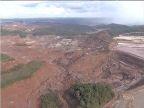 Deslocamento de lama é registrado na Barragem de Fundão - Movimentação ocorreu nesta quarta-feira e empresa enviou alerta amarelo.