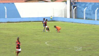 Flamengo vence o Viana por 3 a 0 no Brasileiro Feminino - Time maranhense estreia com derrota jogando ao lado da torcida
