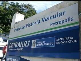 Posto do Detran em Petrópolis, RJ, iniciará agendamentos de vistorias após greve - Agendamentos começam nesta sexta-feira (29).