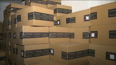 Duas mil caixas de cigarros são apreendidas em Campina Grande - Um dos presos é policial militar reformado.