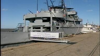 Duas novas embarcações para Rio Grande, RS - Na cidade de Rio Grande, RS, recebeu um navio escola e uma corveta que será o primeiro museu naval do Rio Grande do Sul.