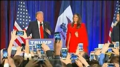Donald Trump sofre primeira derrota nas prévias paras as eleições - Do lado dos democratas, a ex-secretária de estado Hillary Clinton e o senador de Vermont Bernie sanders travaram um duelo voto a voto.