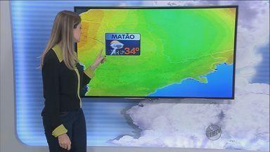 Confira a previsão do tempo para a São Carlos - Confira a previsão do tempo para a São Carlos