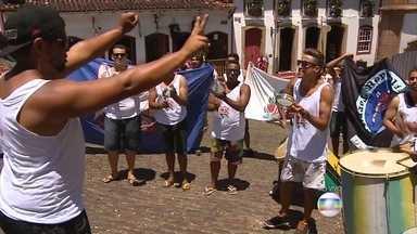 Tradicional em Minas, carnaval de Ouro Preto promete embalar foliões - Festa já começou na cidade