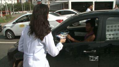Campanha sobre prevenção de acidentes é realizada em São Luís - Campanha sobre prevenção de acidentes é realizada em São Luís