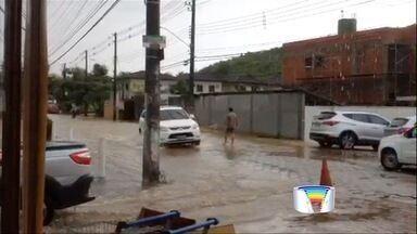 Chuva alagou cerca de 200 casas em São Sebastião - Costa Sul foi a região mais atingida.